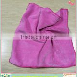 2014 Ultra-fine quality one-side coral fleece circular knitted microfiber terry towel importers
