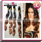 2014 Best sale 100% virgin brazilian afro kinky curly ombre color jumbo braiding hair 1B/33