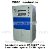 A4 FA2000 PVC Press Laminator PVC Cards Fusing Laminator Machine for Making Plastic ID,IC Cards