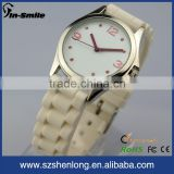 High quality silicon watch bracelet rubber watch, rubber watch interchangeable strap