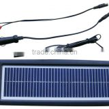 12V 3W Multi-Purpose Solar Panel Battery Charger For Car RV Motorcycle