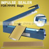 "16""Heat Sealer Poly Bag Machine Teflon Sealing Shrink Wrap 400mm Manual Impulse"