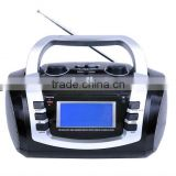 AM/FM/SW Good Quality USB SD Speaker Portable Digital 3 Band Radio