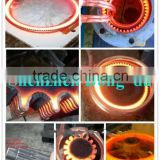 Auto-feed end heating Fast Hot Forging Machine Working Design for steel round bar hot forging