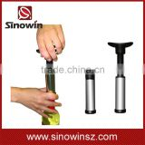 Wine Vacuum Pump Preserver with 2 Air-tight Reusable Rubber Bottle Stopper Corks