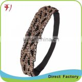 Summer Style Beautiful Girls Square Shape Diamond Headbands Image