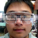 safety glass EN 166 / ANSI PC lens,safety industrial glasses Wide Vision Multi Color Fashion Spectacles