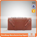 4472 Top sale Paparazzi original design ladies camel leather bag wallet bag manufacturer genuine leather wallet                                                                         Quality Choice