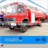 Single or double row cab fire fighting truck tank volume 5 ton small fire truck for sale