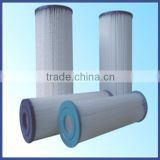 high flow rate washable paper pleated filter cartridge/swimming pool filter cartridge from Guangzhou