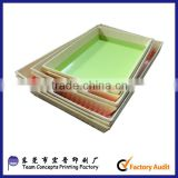Custom Printing food grade chocolate paper tray                                                                         Quality Choice