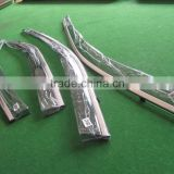 For VOLKSWAGEN VW GOLF 7 MK7 Car Injection Window Deflectors Vent Visor, High quality with stainless steel.