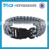 Camping equipment china 7 strand polyester paracord bracelet accessories                                                                                                         Supplier's Choice