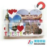 Glitter Trieste Iron Fridge Magnet Tourist souvenirs Guaranteed 100% Free Custom Logo