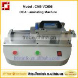 Hot sale Automatic vacuum OCA Film laminating machine for LCD Touch Screen Refurbishing(CNB-VC608)                                                                                                         Supplier's Choice