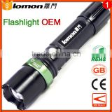 5W Rechargeable High Lumen Tactical 1101 Police Security Flashlight                                                                         Quality Choice