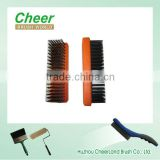 high quality steel wire brush/ brass wire brush, professioanl wire brush for cleaning, with stainless wire