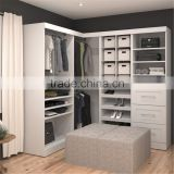 cheap modern bedroom storager laminated particle board cloth cabinet wardrobe, closet cabinet