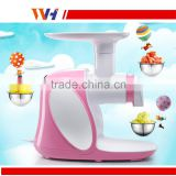 Easy operate pellet fruite frozen ice cream maker