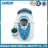 Portable high pressure health care oxygen generator