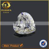 factory wholesale E to F color round brilliant cut 1ct weight 6.5mm white moissanite diamond