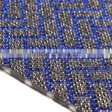 Wholesale Hotfix Adhesive Rhinestone Sheets Sew-on Pearl Mesh Sheet Crystal Diamond Mesh Trimming