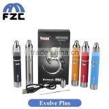 Alibaba Express Hot Selling Newest Wax Vaporizer Pen Kit Original Yocan Evolve Plus Kit With 1100mah Battery                                                                         Quality Choice