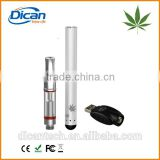 New Design co2 oil vape pen cartridge glass vapor bud touch vaporizer pen battery cbd kit GLA3