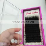 wholesale price high quality individual mink eyelash extension can private label eyelash extension