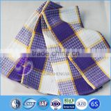 wholesale china supplier cheap 100% cotton waffle purple kitchen towel