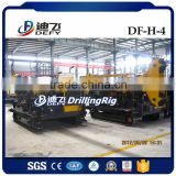 Crawler Df-H-4 Full Hydraulic Operated Used Borehole Water Core Rig, Light Drill Rig with Diamond for Sale