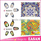 2016 new ble water nail stickers,2016 ble water nail wraps