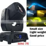 Best selling products 16ch mini stage light moving head beam 7r DMX 512 Moving head beam 230w