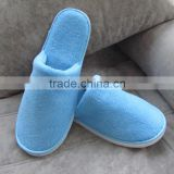 Good Quality Coral Fleece Slipper Upper EVA Sole Disposable Hotel Slippers,Indoor Slippers