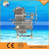 Multiple Precision Stainless Steel Plate And Frame Filter ,Beer Filter Press