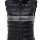 Woman Ultra light padded down vest for winters