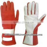 laeather racing gloves