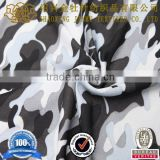 2015 spring new developed, camouflage printed bird's eye knitted fabric