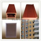 Cheap WPC Decorative wpc air conditioner cover louver