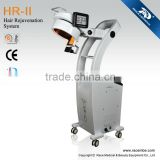 HR-II China Latest 650nm Red Laser, 808 FIR Laser Hair Regrowth Hair Beauty Salon Equipment