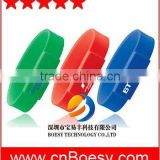 Popular silicone wristband USB stick, bracelet USB drive, high quality for your brand promotion usb memory stick.