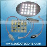 New arrival T0/Ba9s/Feston 12V car interior roof lights car panel board lighting LED car panel light