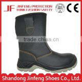 "6"" combat composite pu outsole /sole pu injection safety half boots pu worker working waterproof safety boot plastic toe cap"