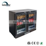 Glass Door Beer Cooler / Beer Bottle Refrigerator / Under Counter Bar Fridge / Back Bar Cooler / Bar Equipment