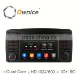 Android 4.4 1G Ram 16G Rom quad core Ownice C300 car audio player for Benz R Class R320 R350 R500 with wifi GPS NAVI DAB