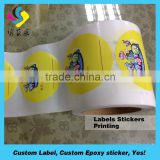 High quality waterpoof 3m adhesive sticker led sticker for bottle