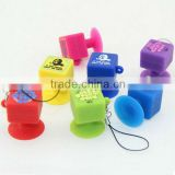 Brand new design silicone sticky phone holder/phone holder for car/motorcycle phone holder