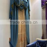 More than 10 years experience hot selling plain velvet curtain fabric for blackout shade
