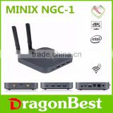 stable box Minix NGC-1 N3150 4GB DDR3L 128GB Windows10 4GB 128GB 4K OS intel braswell fanless mini PC made in China