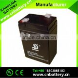 6v4ah deep cycle battery rechargeable 6volt battery for LED lamp